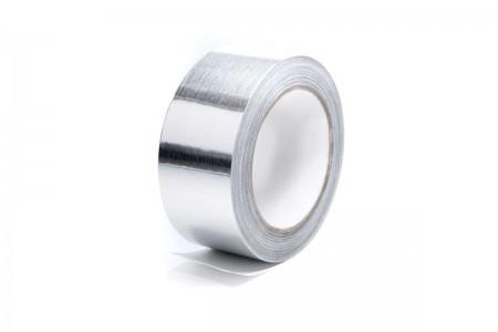 Металлизированный скотч 48 мм вентиляционный (лавсановый)
