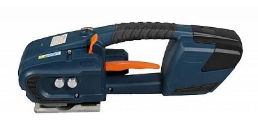 Аккумуляторный стреппинг инструмент для обвязки ПЭТ и ПП ленты JDC-16