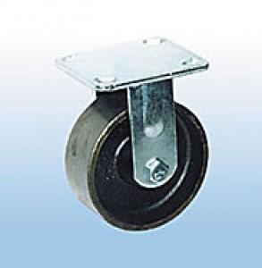 Колесные опоры большегрузные неповоротные стальные