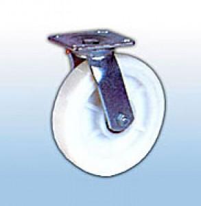 Колесные опоры большегрузные поворотные (нейлон)