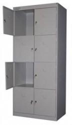 Металлические шкафы для сумок 4-х дверные шрк
