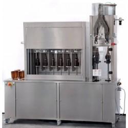 Полуавтоматические машины для розлива газ. напитков и тихой жидкости
