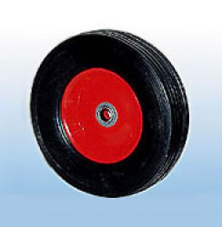SR 1900 Колесо для тележки с несимметричной ступицей, литая резина