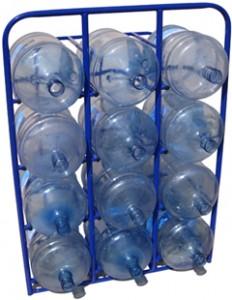 Стеллаж для бутылей с водой. Серии СВД