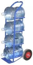 ВД 4.Тележка для баллонов с водой