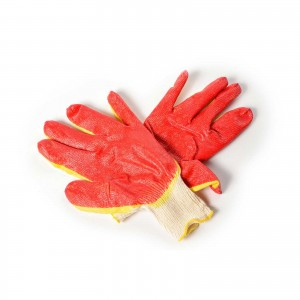 Перчатки Х/Б с двойным обливом